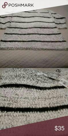 Calvin Klein  Sweater 46%polyester 30%acrylic 24%nylon. Calvin Klein Sweaters Crew & Scoop Necks
