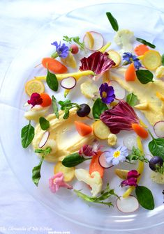 Medley of Vegetables, Flowers & Herbs Recipe (A tribute to Michel Bras's Le Gargouillou)