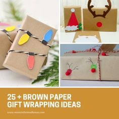 Brown Paper Christma