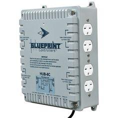 Blueprint controllers digital co2 controller bdcc 1 hydroponic blueprint controllers hid hub 8 site hub 8c malvernweather Choice Image