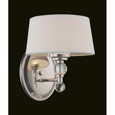 Murren Polished Nickel One Light Wall Sconce Savoy House 1 Light Armed Candle Wall Sconces