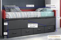 F15052C Room Ideas Bedroom, Small Room Bedroom, Girls Bedroom, Bedroom Furniture, Teen Room Designs, Closet Designs, Student Room, Guest Room Office, Kid Beds