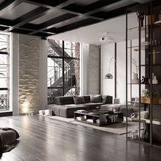 Cosmopolitan Loft visualized by Andew Sadokha, New York #Usa ...