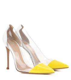 mytheresa.com - Exklusiv bei mytheresa.com – Pumps Plexi aus Lackleder - Gianvito Rossi - Designer - Luxury Fashion for Women / Designer clothing, shoes, bags