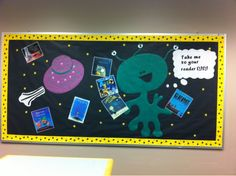 Alien Bulletin Board | Cinjoella