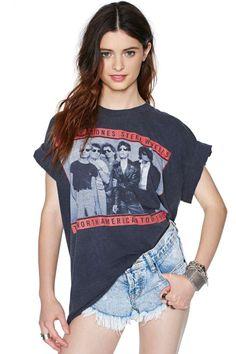 Rolling Stones Steelwheels 1989 Concert Tee #rocktee #vintagetee