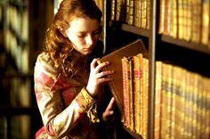 Dakota Blue Richards as Maria Merryweather in The Secret of Moonacre (2008).