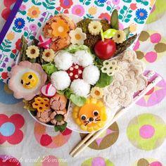 ★Super Happy Youpi Time★#5 {Un Bento de Mai Fleuri} #Bento #Charaben