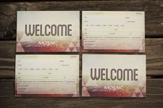 Connection Card by Chase Kettl, via Behance