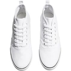 H&M Sneakers (136.285 IDR) ❤ liked on Polyvore featuring shoes, sneakers, clothes - shoes, обувь, cotton shoes, h&m sneakers, h&m shoes, canvas sneakers and plimsoll shoes