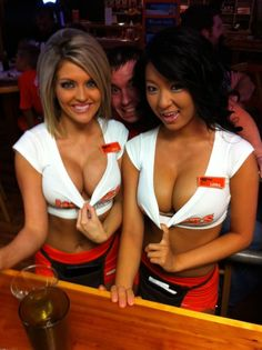 HOOTERS HERE I COME!