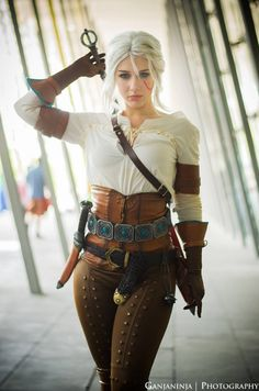 Heiress – Ciri cosplay by Soylent-cosplay on DeviantArt – The Witcher Series Moda Steampunk, Steampunk Fashion, Steampunk Cosplay, Ciri Cosplay, Anime Cosplay, Fantasy Women, Fantasy Girl, Cosplay Outfits, Cosplay Girls