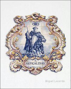 S. Gonçalinho    Azulejo da Travessa S. Gonçalinho, Aveiro