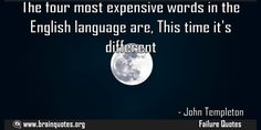 The four most expensive words in the English language are This time its different  The four most expensive words in the English language are This time it's different  For more #brainquotes http://ift.tt/28SuTT3  The post The four most expensive words in the English language are This time its different appeared first on Brain Quotes.  http://ift.tt/2g1qdhr