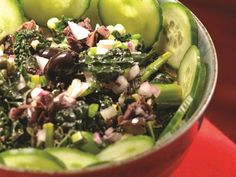 Kale Salad http://www.prevention.com/food/healthy-recipes/meals-that-soothe-inflammation/kale-salad