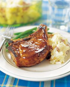 Break out the good stuff — Jack Daniel's — for Tennessee whiskey pork chops!