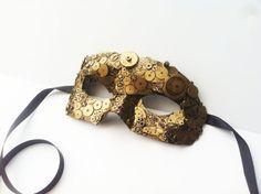 masque de mascarade de rouage d