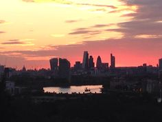 Sunset in greenwich July 2015