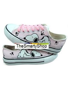 Glamour, scarpe sportive rosa stampa 'Snoopy', snoopy sneakers PEANUTS