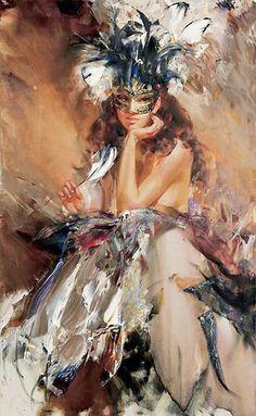 Un talentoso artista Ivan Slavinsky
