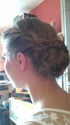 French Braid Up-Do