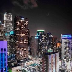 Downtown LA, you are beautiful. #OutlineTheSky #RepYourCiy #LASkyline #ComingSoon  Photo©: @_snyper