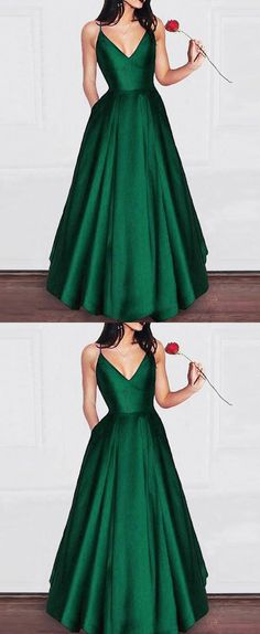 Prom Dresses Ball Gown, Amazing Elegant A Line Satin Prom dress Girls Graduation Gown 2019 Party Dress, from the ever-popular high-low prom dresses, to fun and flirty short prom dresses and elegant long prom gowns. Prom Dresses With Pockets, Grad Dresses, Trendy Dresses, Homecoming Dresses, Bridesmaid Dresses, Graduation Gowns, Long Dresses, Dress Long, Red Satin Prom Dress