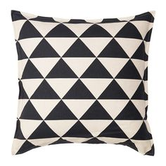 IKEA - JOHANNE, Cushion cover, , Cover is made of ramie; a hard-wearing and absorbent natural material.The zipper makes the cover easy to remove.