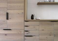 Brooklyn kitchen remodel with custom oak cabinets, design by Workstead, Matthew Williams photo | Remodelista