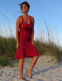 Gaia Conceptions - Built in Bra Racer Back Tank Short Dress, $140.00 (http://www.gaiaconceptions.com/built-in-bra-racer-back-tank-short-dress/)