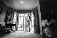 We always love the art of story telling by using B&W classic colour tone to create long lasting beautiful wedding images. Photo by Twenty One Studio.