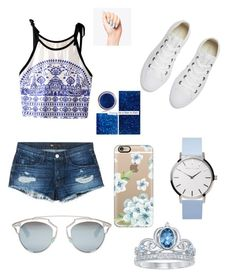 """""""Untitled #77"""" by tatiana-m-evans ❤ liked on Polyvore featuring 3x1, Converse, Disney, Casetify and Christian Dior"""