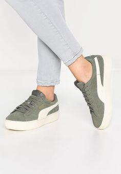 00c7d0c467ee Chaussures Puma VIKKY PLATFORM - Baskets basses - agave green olive  65