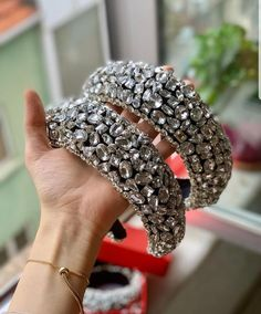 Your place to buy and sell all things handmade Crystal Headband, Crystal Crown, Crystal Earrings, Jeweled Headband, Ribbon Jewelry, Hair Jewelry, Handmade Hair Accessories, Bridal Hair Accessories, Bridal Tiara
