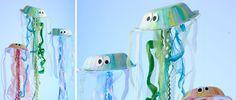 Jellyfish Paper Plate Craft Idea