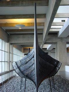 Picture of Viking ship in Vikingship museum, Roskilde | Roskilde | Denmark