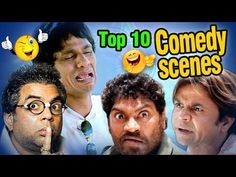 Best 10 Comedy Scenes Ft - Paresh Rawal   Rajpal   Johnny Lever   Govinda   Kadar Khan   Mehmood - YouTube