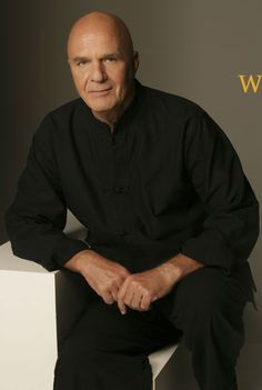 Wayne Dyer is the man!  If you're not familiar with his work, you need to be.  Pick up one of his books, cds or dvds.