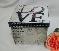 Mini Caixa Love Vintage