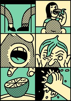 Simon Landrein illustrations. more here http://simonlandrein.tumblr.com/