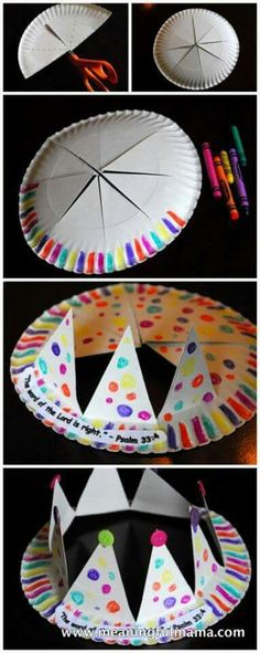 Easy way of making a hat