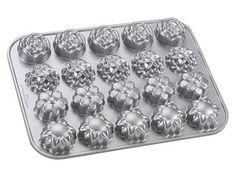Nordic Ware heavy cast aluminum Flower Petit Fours pan.