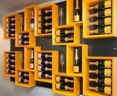 Cool Champagne Wine Box Racks