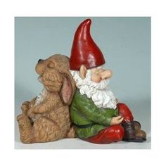 I don't typically like the garden gnomes, but I'll admit this one is cute.