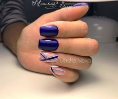 faded french nails to get - verb . - faded french nails to to get – to get faded French nails - Square Nail Designs, Blue Nail Designs, Diy Nail Designs, French Nails, Acrylic Nail Shapes, Pointed Nails, Latest Nail Art, Metallic Nails, Nagel Gel
