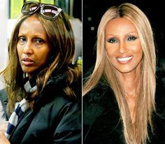 stars without makeup - Google Search Makeup Photoshop, No Photoshop, Celebrity Beauty, Celebrity Look, Claudia Schiffer, Cellulite, Iman Model, Celebs Without Makeup, Celebrities Before And After