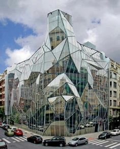DEPARTMENT OF HEALTH, BILBAO SPAIN #architecture #building #design #spain #travel #glass