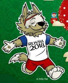 Zabivaka, o Mascote Copa_2018 #copa #copadomundo #copafifa2018 #coparussia #russia2018 #zabivaka #worldCup2018 #zabivaka2018