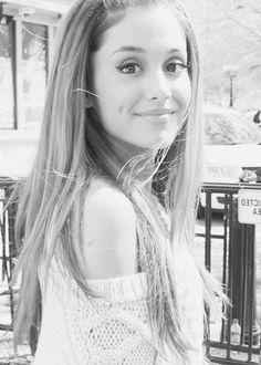 Ariana Grande as Ariana Black a daughter to 2 very famous singers and shes trying to make it on her own