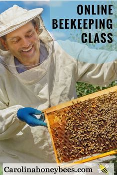 Getting started with bees. Join Master Beekeeper Charlotte Anderson on a journey into the world of beekeeping. Yes, you can become a beekeeper. Carolina Honeybees